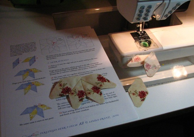 A Machine Pieced Star (3)